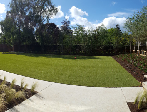 Another bespoke garden project nears completion