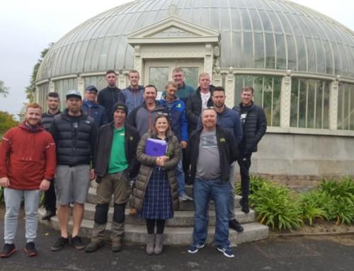 O'Briens link with Botanic Gardens to provide staff training